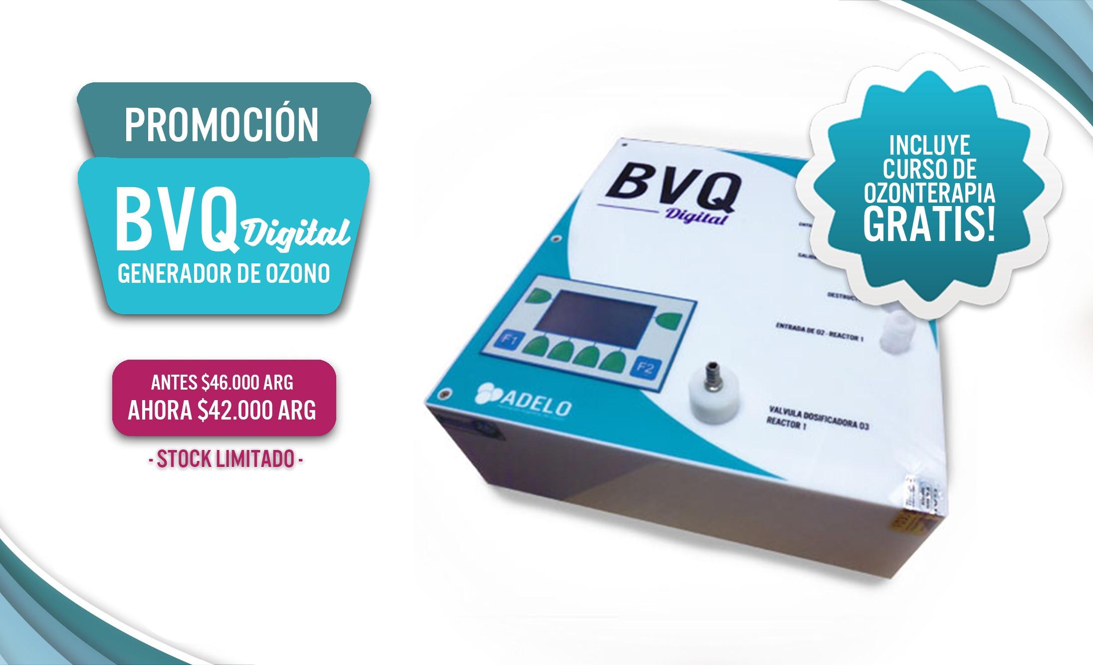 Generador de Ozono BVQ Digital